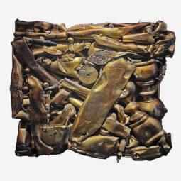 Compression en laiton - CESAR - Galeries Bartoux
