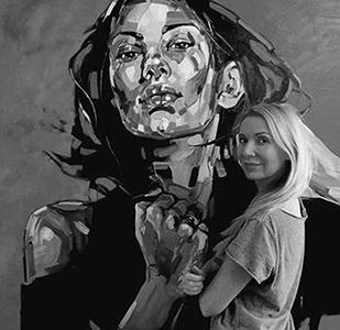 portrait-anna-bocek - portrait-anna-bocek - Galeries Bartoux