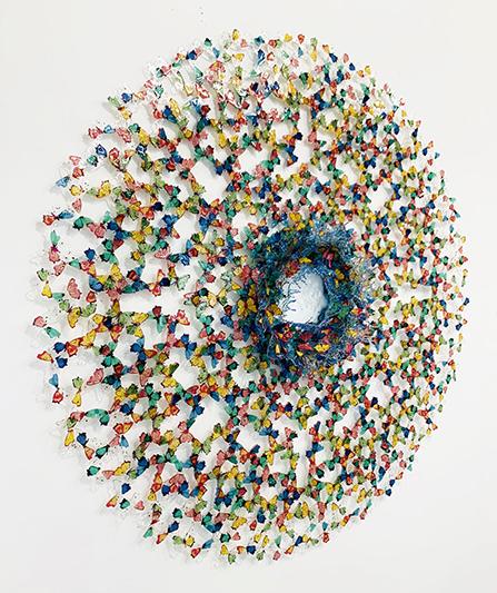 Dreamcatcher petals wind - ANNALU - Galeries Bartoux
