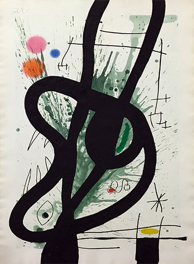 Le grand carnassier - MIRO JOAN - Galeries Bartoux