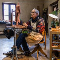 Bruno CATALANO –  opens his studio - Galeries Bartoux