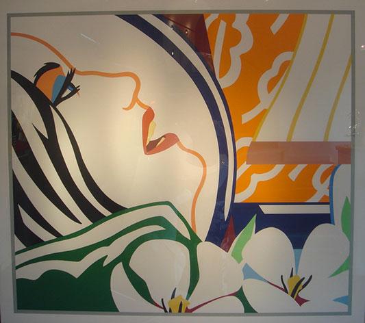 Bedroom face 41 - WESSELMANN TOM - Galeries Bartoux