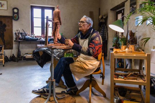 Bruno CATALANO -  opens his studio - Galeries Bartoux