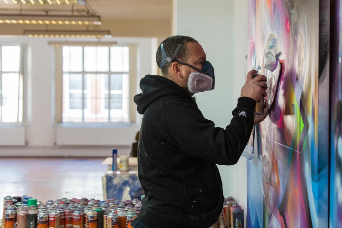 galeries-bartoux-art-mr-cenz-portrait - Mr Cenz – opens his studio - Galeries Bartoux