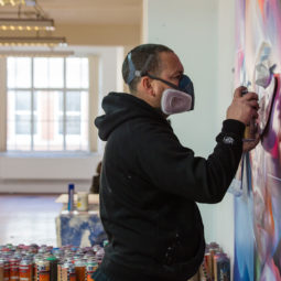 Mr Cenz – opens his studio - Galeries Bartoux