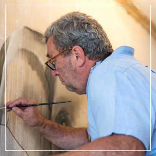 Thierry Bisch - opens his studio - Galeries Bartoux