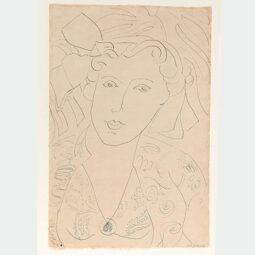 Portrait de Femme - MATISSE HENRI - Galeries Bartoux