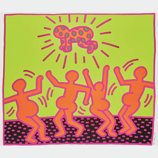 The Fertility Suite - HARING KEITH - Galeries Bartoux