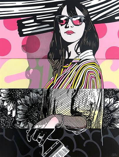 La vie en rose - GRIS1 - Galeries Bartoux