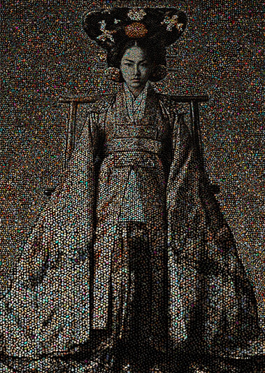Joseon Dynasty Royal Family Series Empress 13 - CHONG IL WOO - Galeries Bartoux