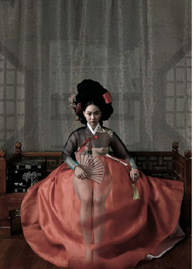 Woman of Joseon Dynasty Nude Series 3 - CHONG IL WOO - Galeries Bartoux
