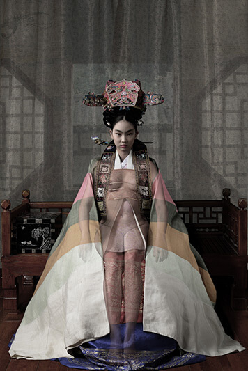 Woman of the Joseon Dynasty Nude Series N6 - CHONG IL WOO - Galeries Bartoux