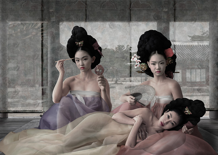 Women of the Joseon Dynasty Nude Series 15 - CHONG IL WOO - Galeries Bartoux