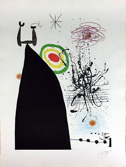 Chef d'orchestre - MIRO JOAN - Galeries Bartoux
