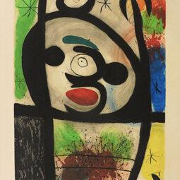 La Femme Toupie - MIRO JOAN - Galeries Bartoux