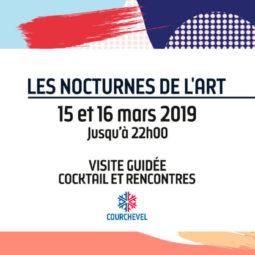 Les nocturnes de l'art à Courchevel - Galeries Bartoux