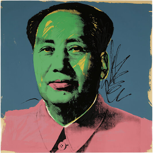 Mao - WARHOL ANDY - Galeries Bartoux