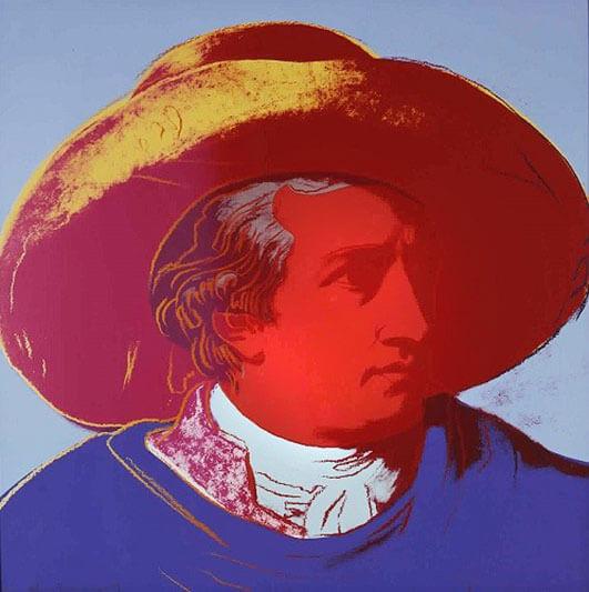 Goethe - WARHOL ANDY - Galeries Bartoux