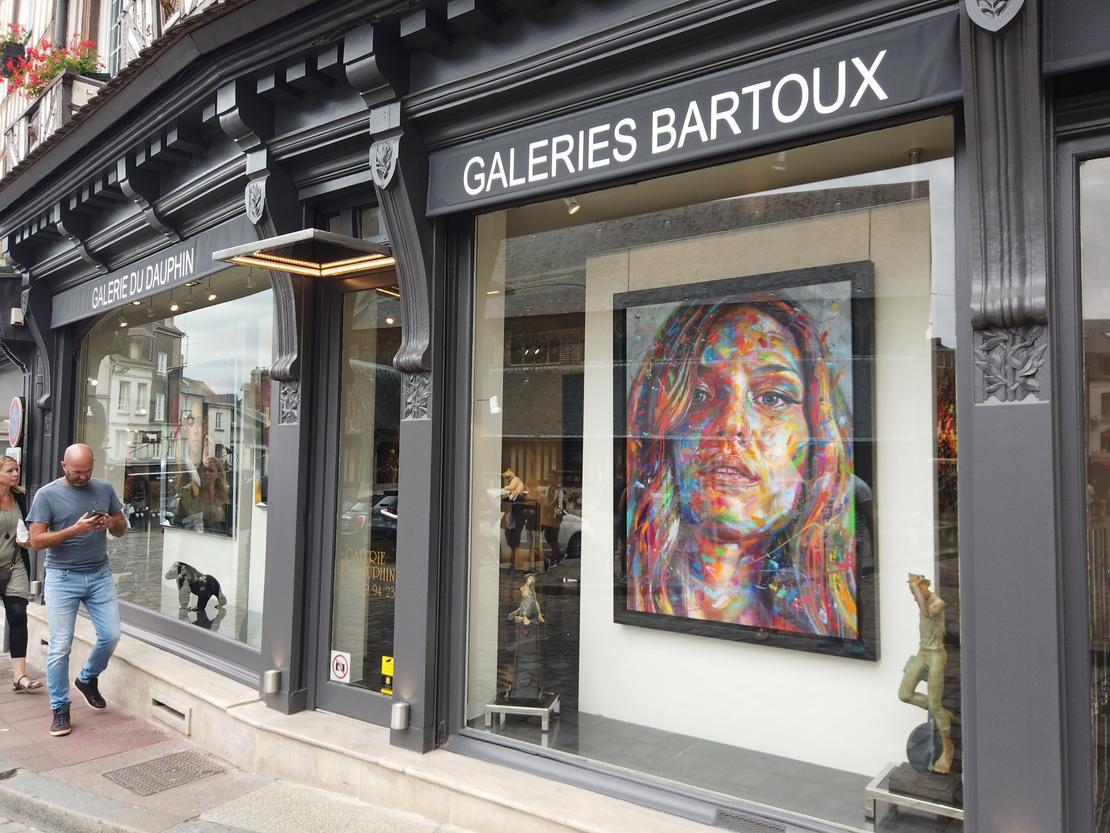 DAUPHIN5_1 - HONFLEUR – DAUPHIN - Galeries Bartoux