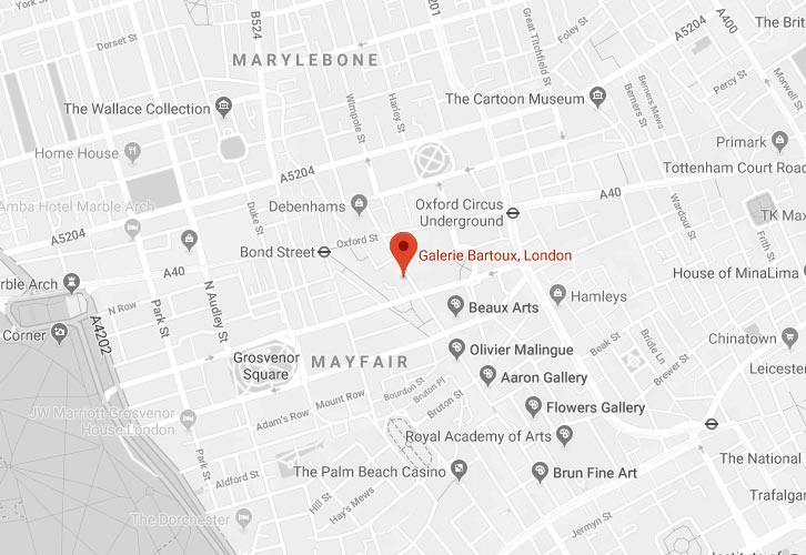 Galerie-Bartoux-London - LONDON - Galeries Bartoux