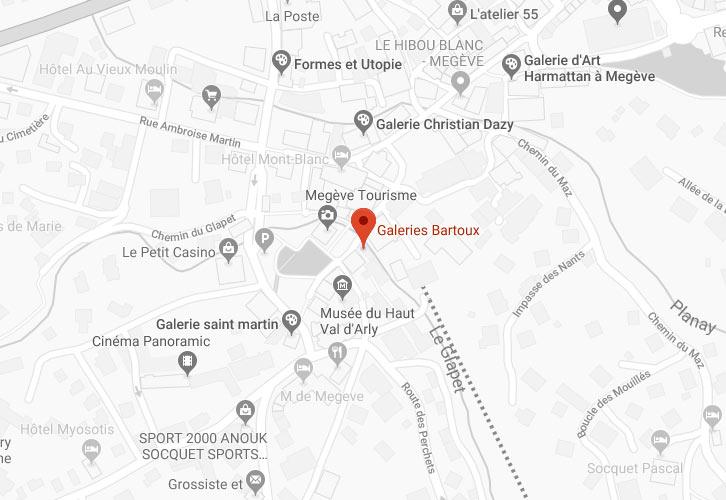 Galerie-Bartoux-Megeve - MEGÈVE - Galeries Bartoux