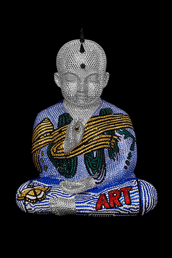 "Punkbuddha ""Painted Dreams"" feat. Lichtenstein - ATASH METIS - Galeries Bartoux"