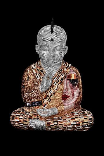 "Punkbuddha ""Forever Yours"" feat. Klimt - ATASH METIS - Galeries Bartoux"