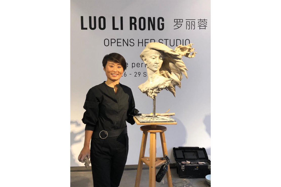 luolirong2 - Luo Li Rong – Live Performance - Galeries Bartoux
