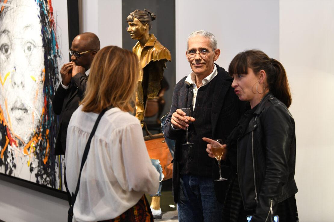 DSC_0210 - Art Dinner – American Express Centurion x Kaviari - Galeries Bartoux