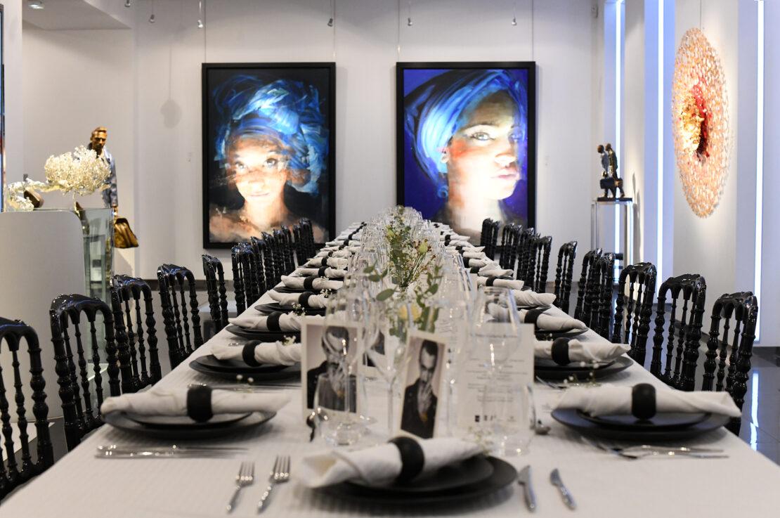 DSC_9640 - Art Dinner – American Express Centurion x Kaviari - Galeries Bartoux
