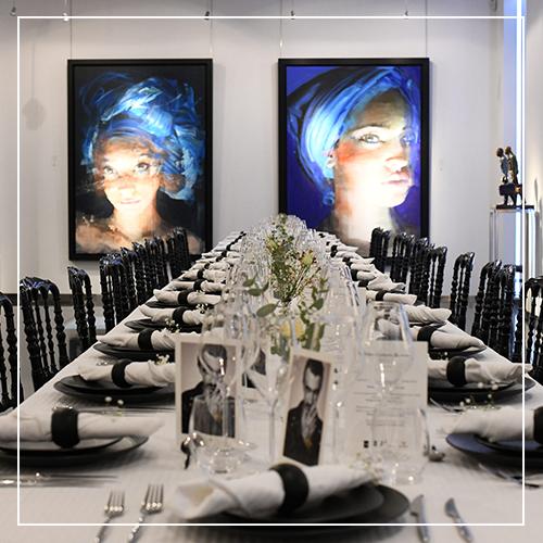 Art Dinner - American Express Centurion x Kaviari - Galeries Bartoux