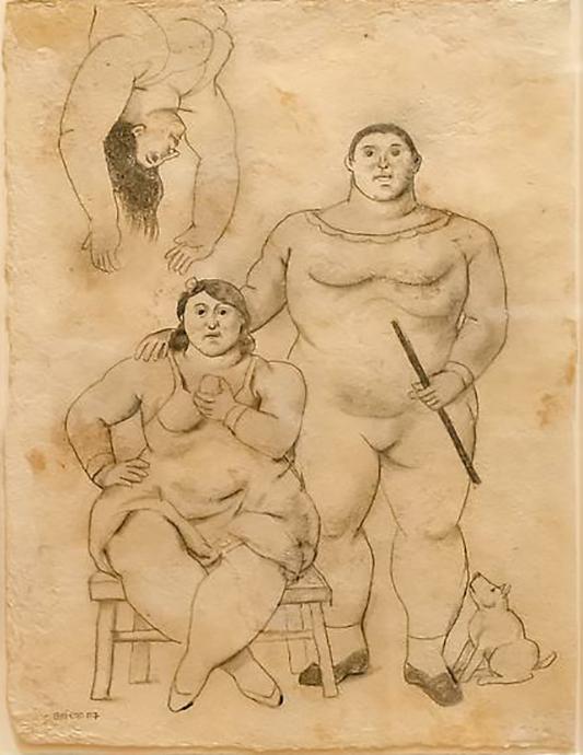 Acrobats - BOTERO FERNANDO - Galeries Bartoux