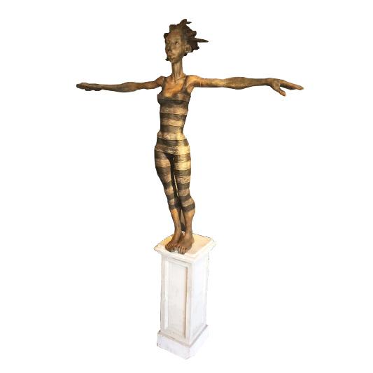 La plongeuse - DE KEYZER DIRK - Galeries Bartoux