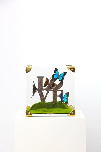 Love Turquoise III - FERAL ROMAN - Galeries Bartoux