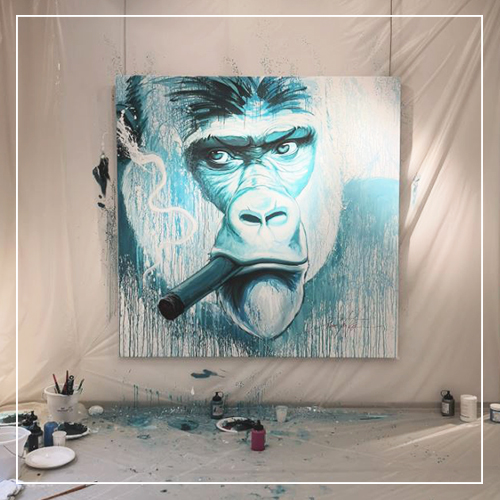 Noé Two x Association Gorilla - Galeries Bartoux