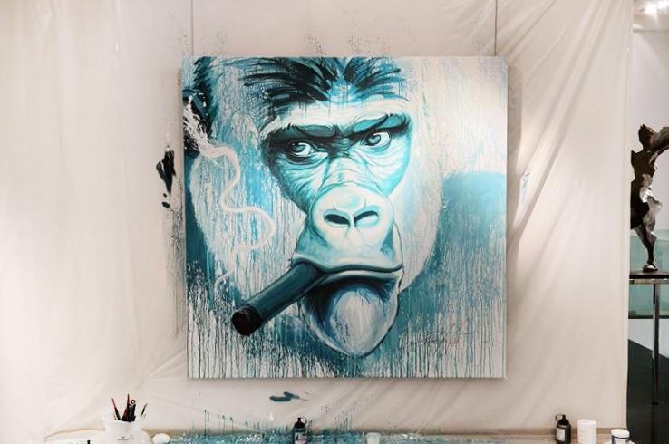 noe-two_gorilla - Noé Two x Association Gorilla - Galeries Bartoux