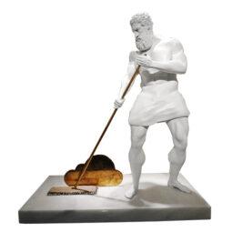 Mop the cloud white - YUSUFI EMRE - Galeries Bartoux