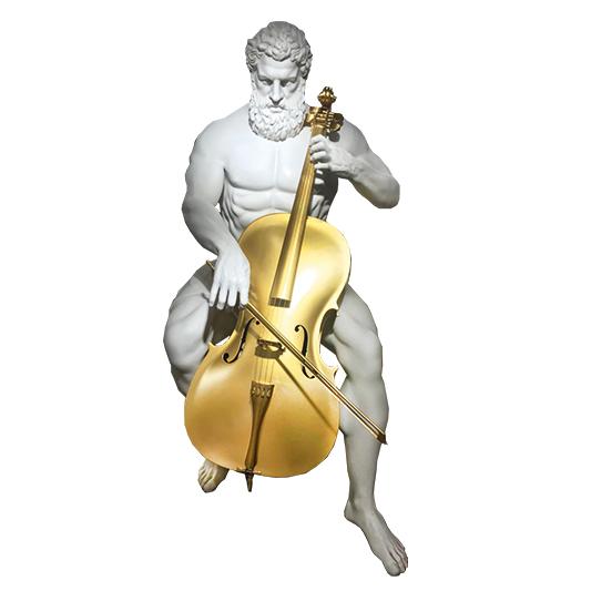 Golden Cello - YUSUFI EMRE - Galeries Bartoux