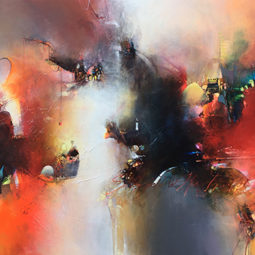 Emozioni in rosso per te - DI FAZIO PASQUALE - Galeries Bartoux