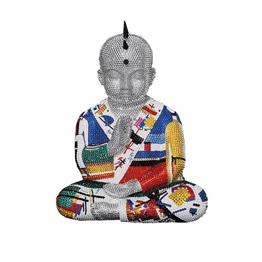 Punkbuddha Surfacing - ATASH METIS - Galeries Bartoux