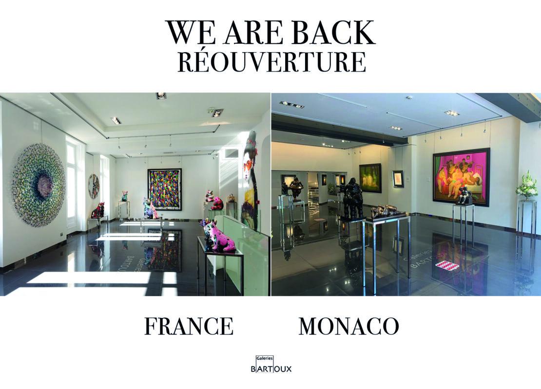 site réouverture gb france - RÉOUVERTURE – France, Monaco & Londres - Galeries Bartoux