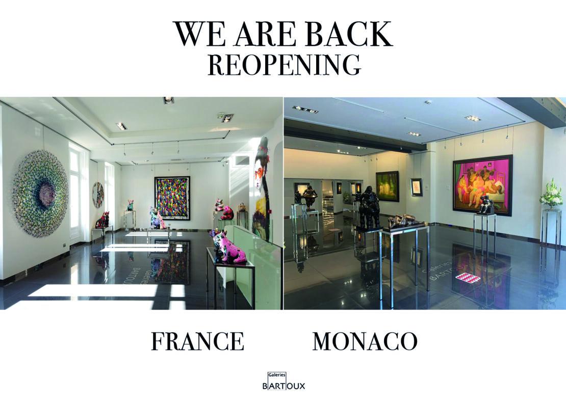 site réouverture gb france.anglais - REOPENING – France, Monaco & London - Galeries Bartoux