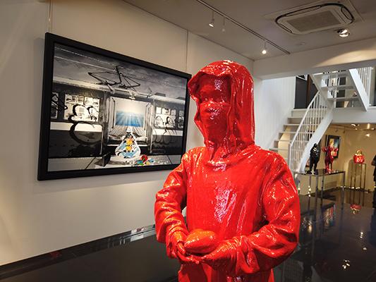 Colomina-bronze-rouge - JAMES COLOMINA – Nouvelle technique - Galeries Bartoux