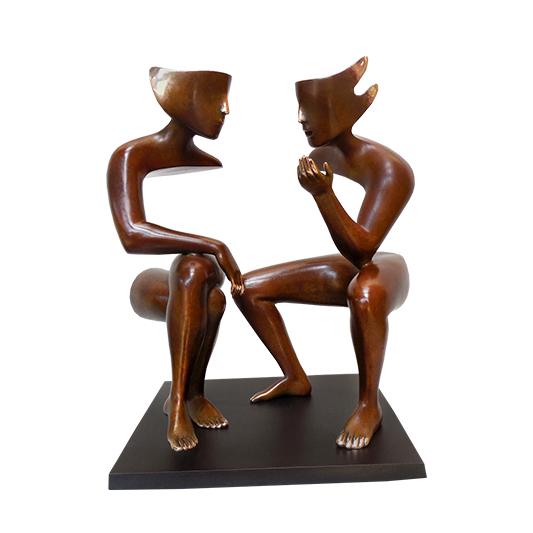 La conversation - ETIENNE - Galeries Bartoux