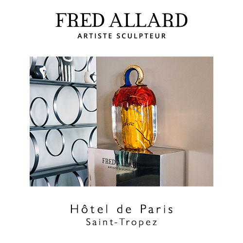 allard-hotel-de-paris-saint-tropez-galeriesbartoux - FRED ALLARD – Hôtel de Paris - Galeries Bartoux