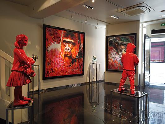 colomina-bronze-rouge-2 - JAMES COLOMINA – Nouvelle technique - Galeries Bartoux