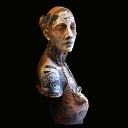 Femme et kangaroo - WEISSBERG GAELLE - Galeries Bartoux