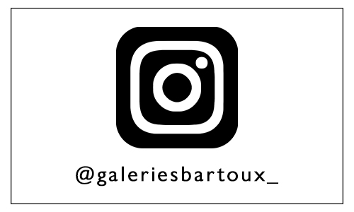 New Instagram page - Galeries Bartoux