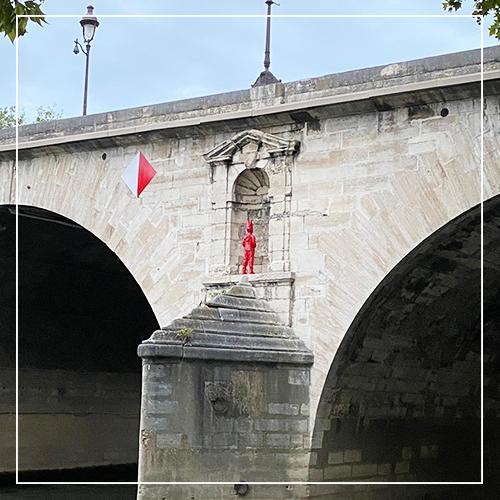 JAMES COLOMINA - Pont-Marie à Paris - Galeries Bartoux
