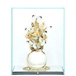 Chanel Perle White Gold - FERAL ROMAN - Galeries Bartoux